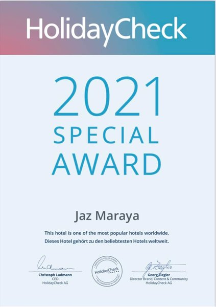 Jaz Maraya Family Resort - 12 Popup navigation